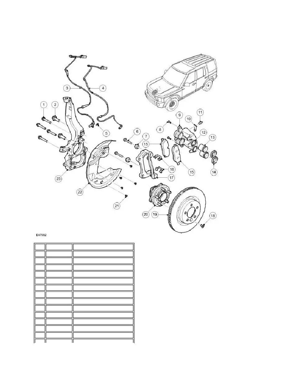 Land Rover Workshop Manuals > LR3/Disco 3 > 206-03 Front