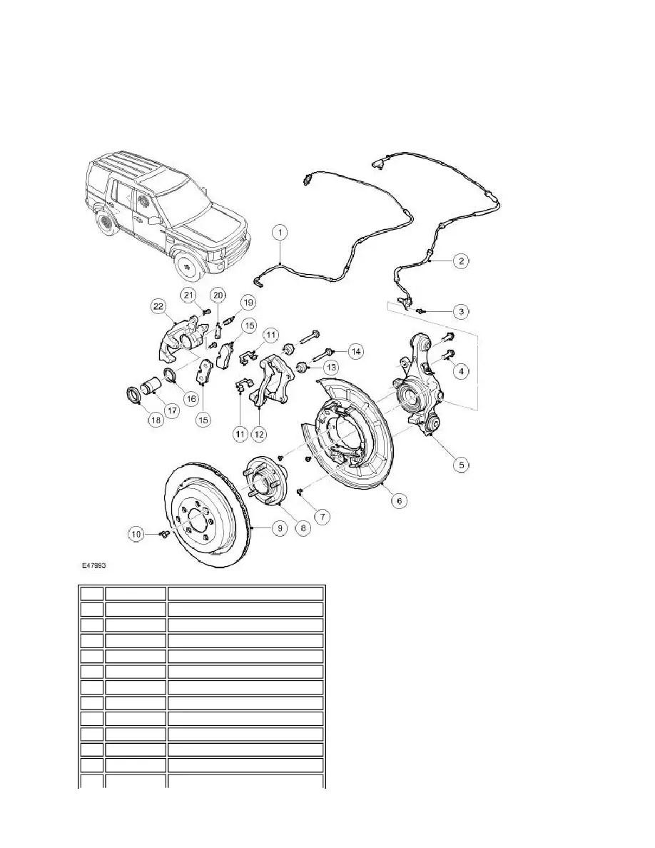 Land Rover Workshop Manuals > LR3/Disco 3 > 206-04 Rear