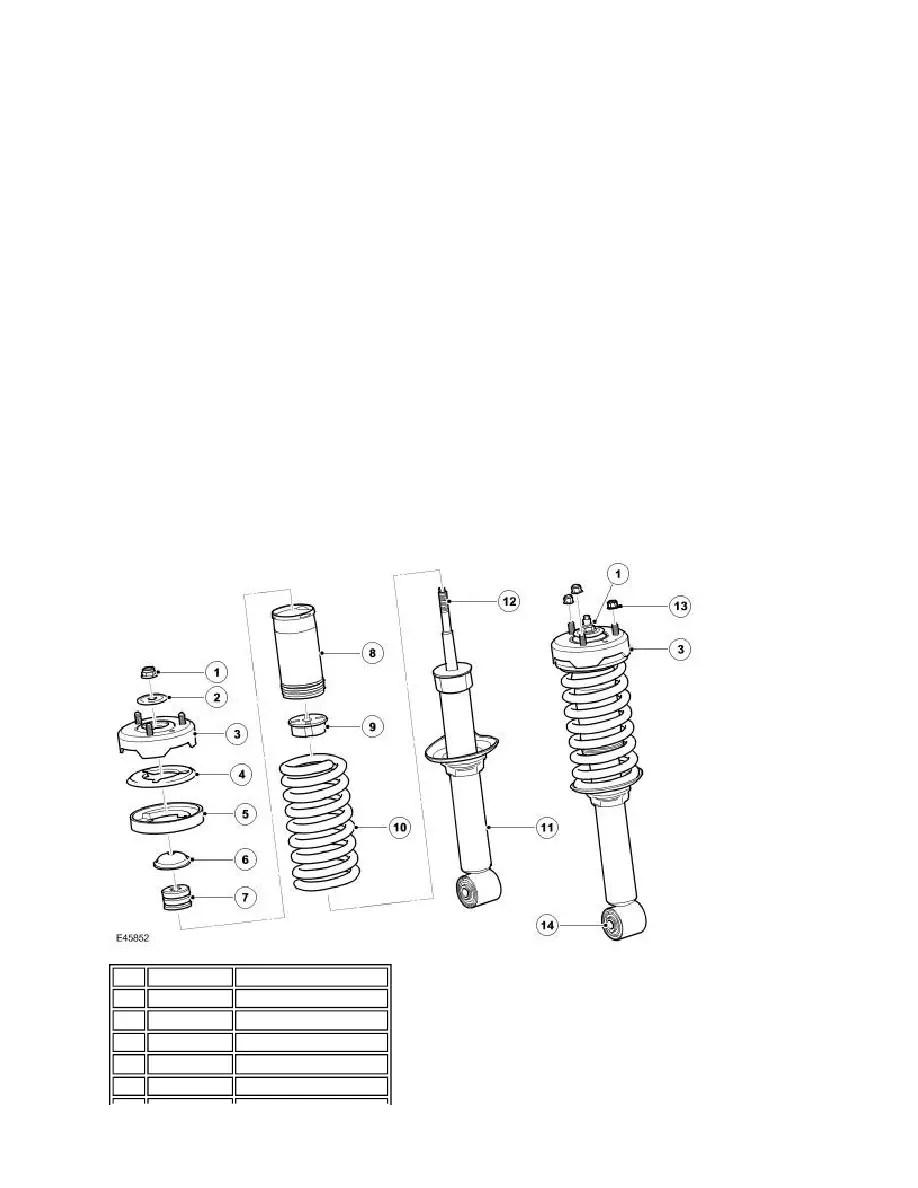Land Rover Workshop Manuals > LR3/Disco 3 > 204-01 Front