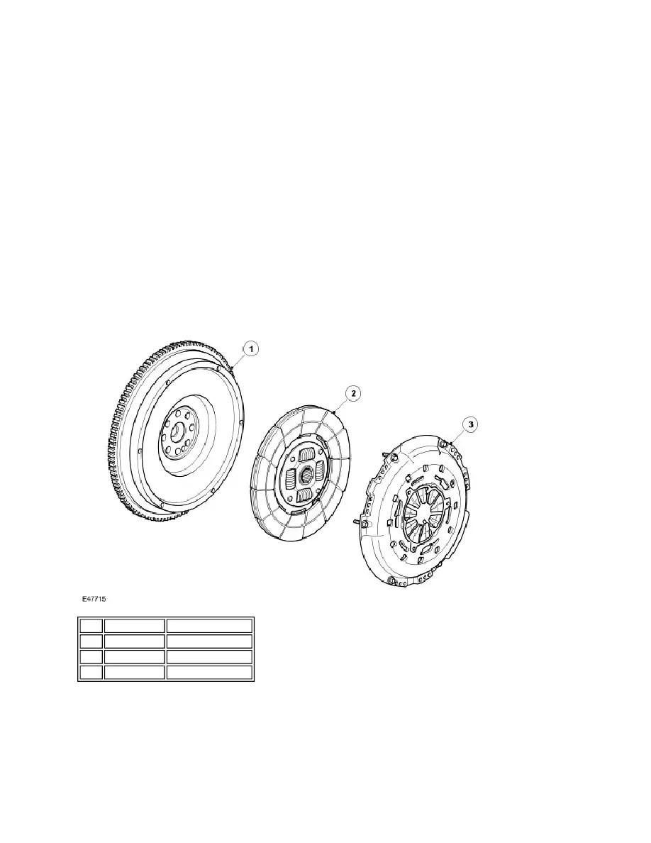 Land Rover Workshop Manuals > LR3/Disco 3 > 308-01 Clutch
