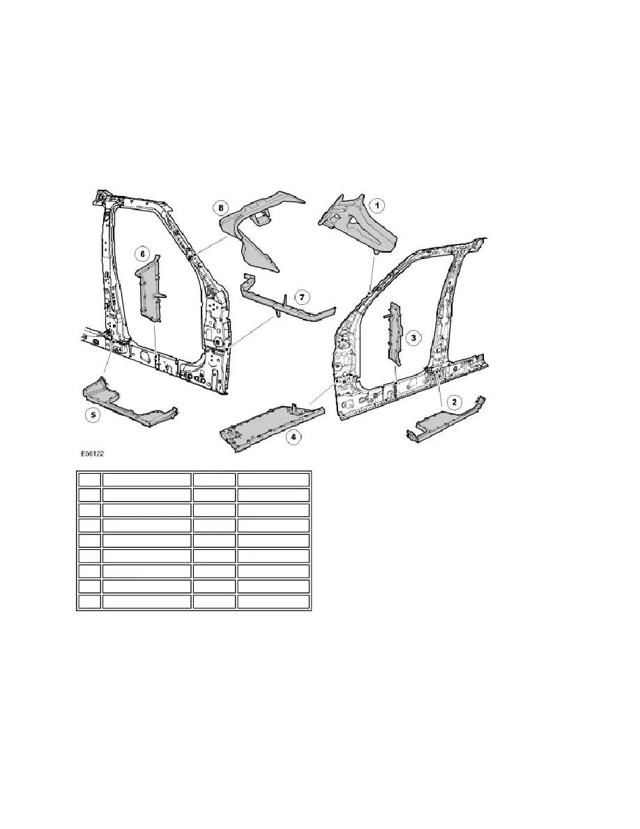 Land Rover Workshop Manuals > LR3/Disco 3 > 501-25C Body