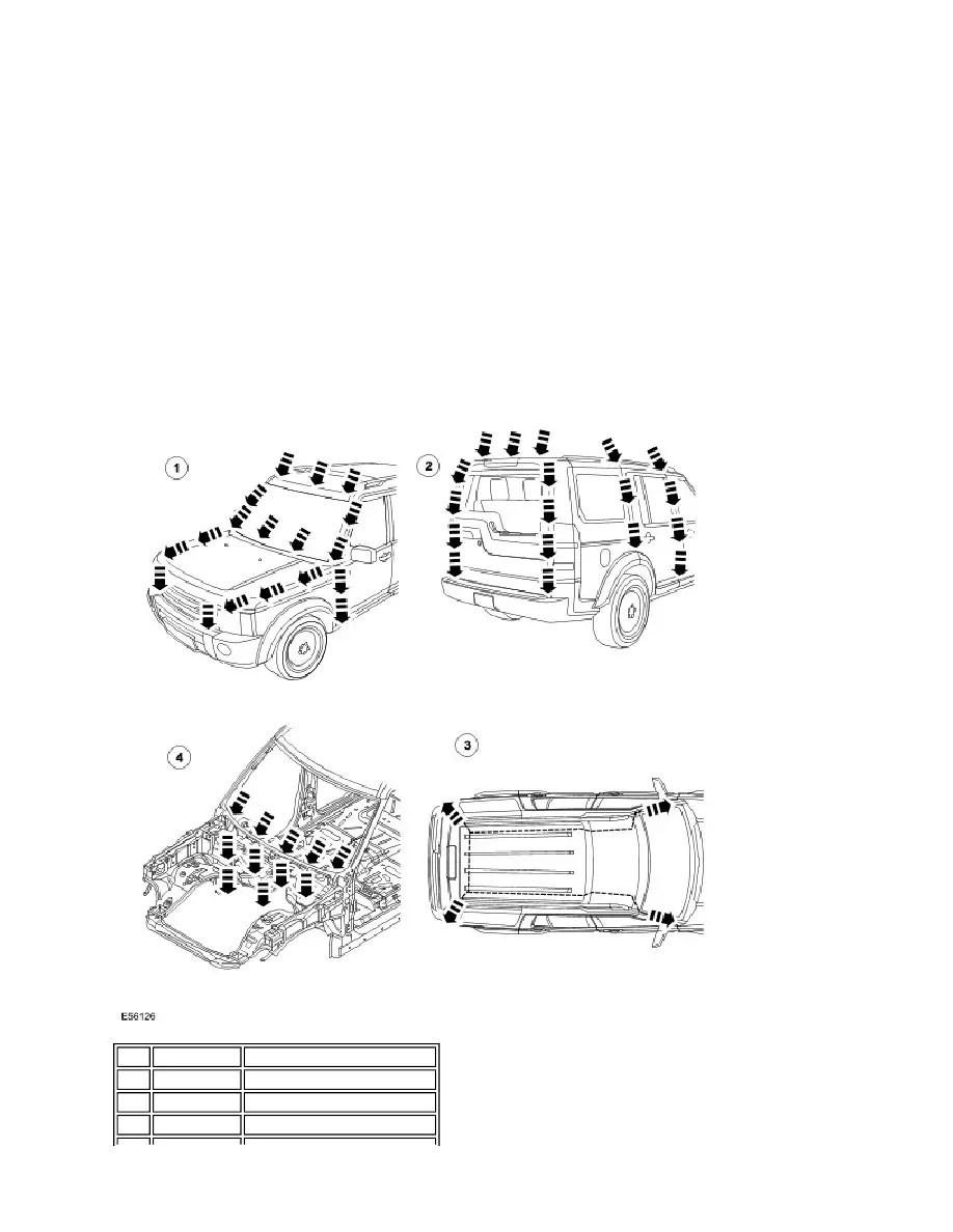 Land Rover Workshop Manuals > LR3/Disco 3 > 501-25D Body