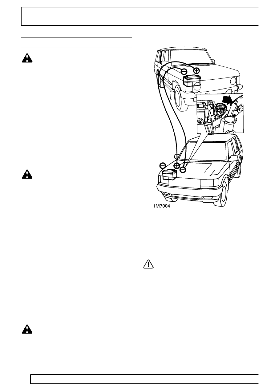 Land Rover Workshop Manuals > Range Rover P38 > 01