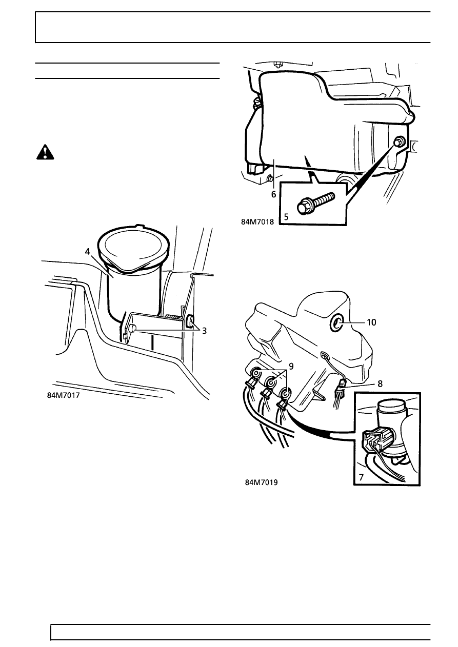 Land Rover Workshop Manuals > Range Rover P38 > 84