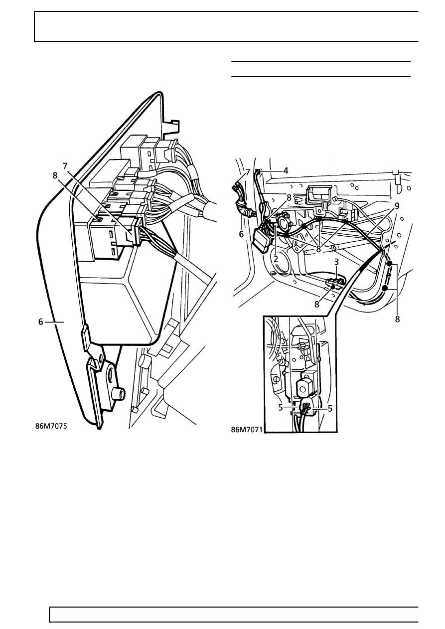 P 38 Range Rover Fuse Box Electric Eye Wiring Diagram
