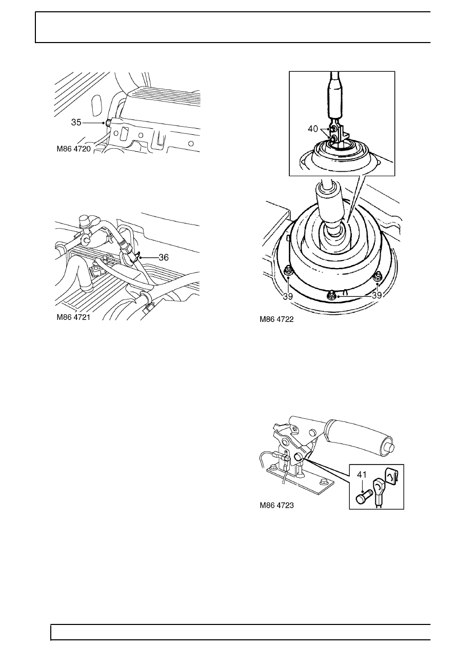 Land Rover Workshop Manuals > Range Rover P38 > 86