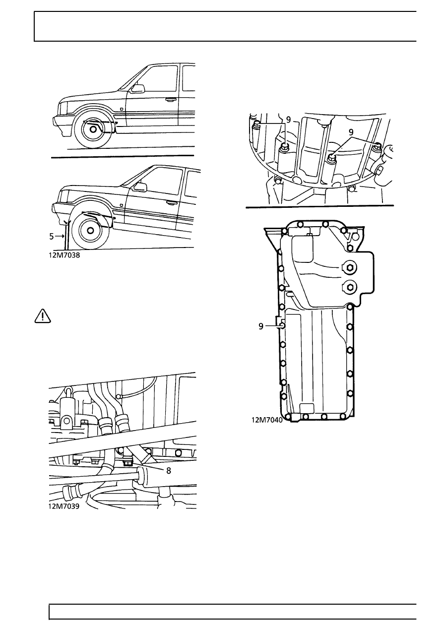 Land Rover Workshop Manuals > Range Rover P38 > 12