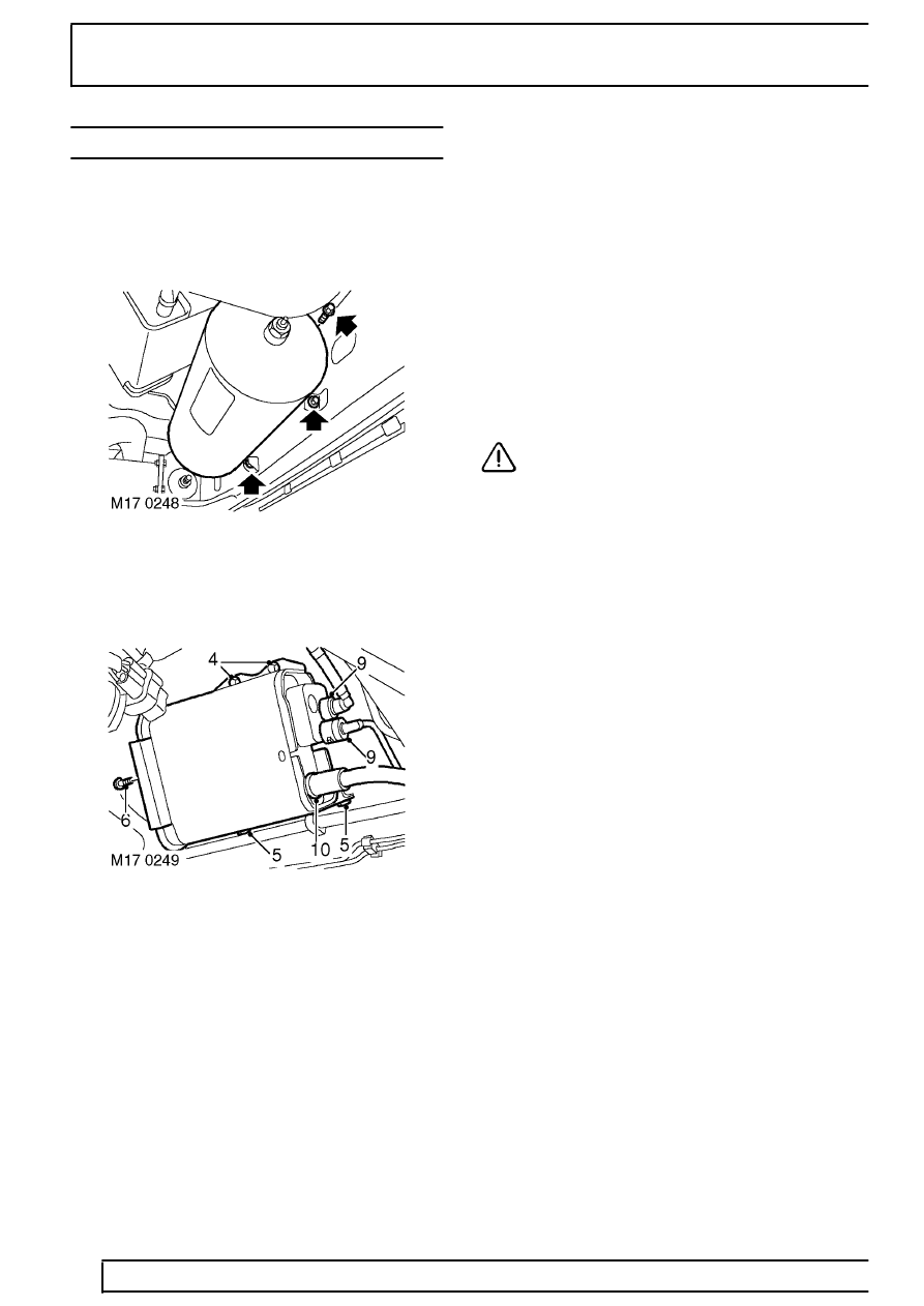 Land Rover Workshop Manuals > Range Rover P38 > 17