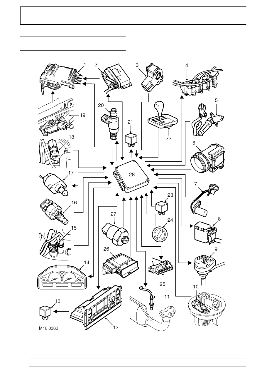 hight resolution of land rover workshop manuals u003e range rover p38 u003e 19 fuel system rh workshop manuals com range rover p38 engine diagram
