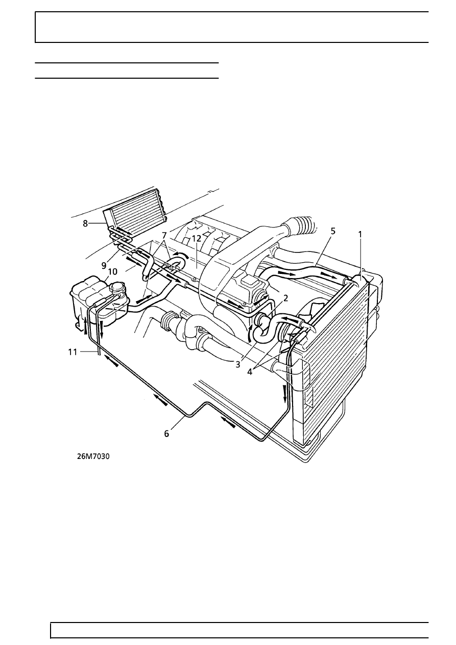 hight resolution of land rover workshop manuals u003e range rover p38 u003e 26 cooling system26 cooling system