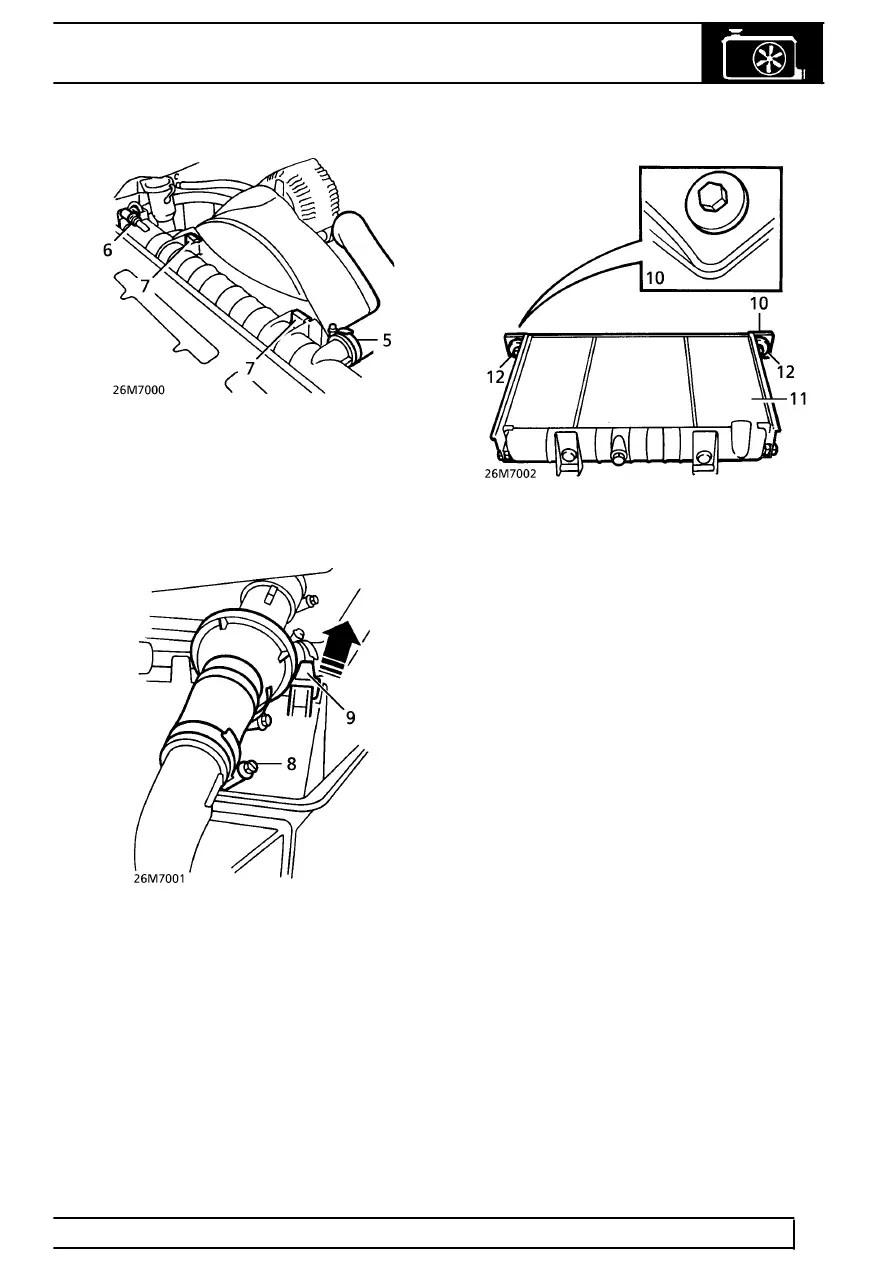 Land Rover Workshop Manuals > Range Rover P38 > 26