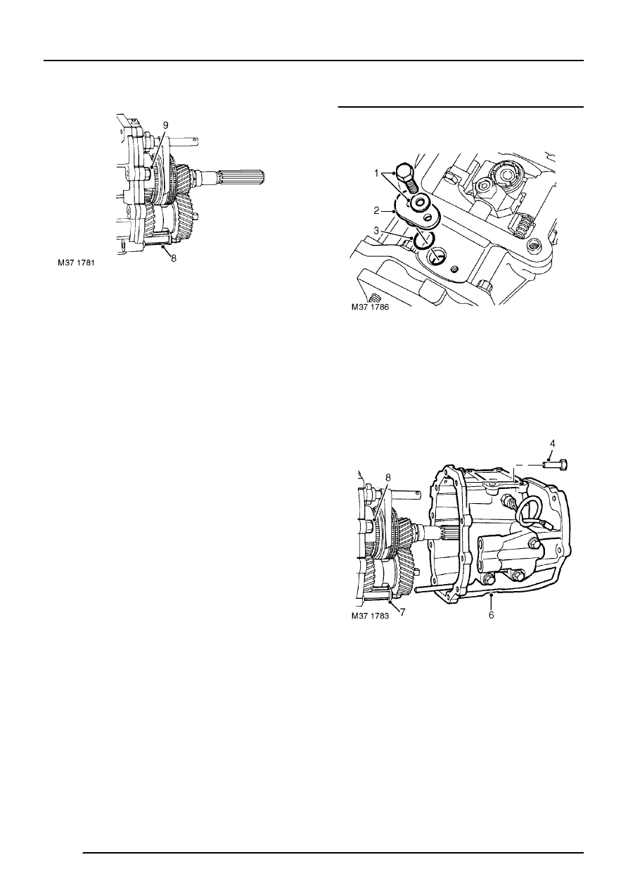 Land Rover Workshop Manuals > R380 Manual Gearbox Overhaul