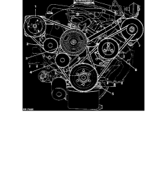engine cooling and exhaust engine drive belts mounts brackets and accessories drive belt component information diagrams [ 918 x 1188 Pixel ]