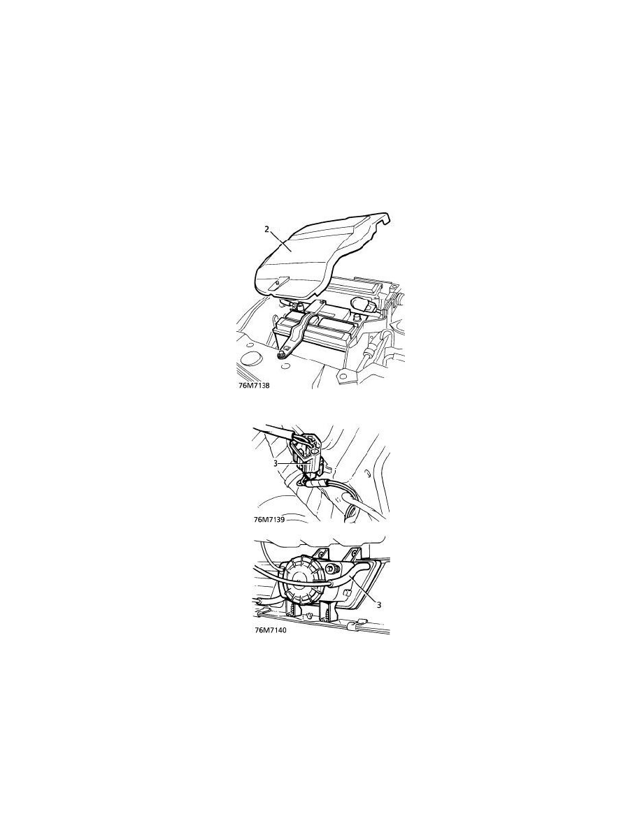 Land Rover Workshop Manuals > Range Rover SE (LP) V8-4.0L