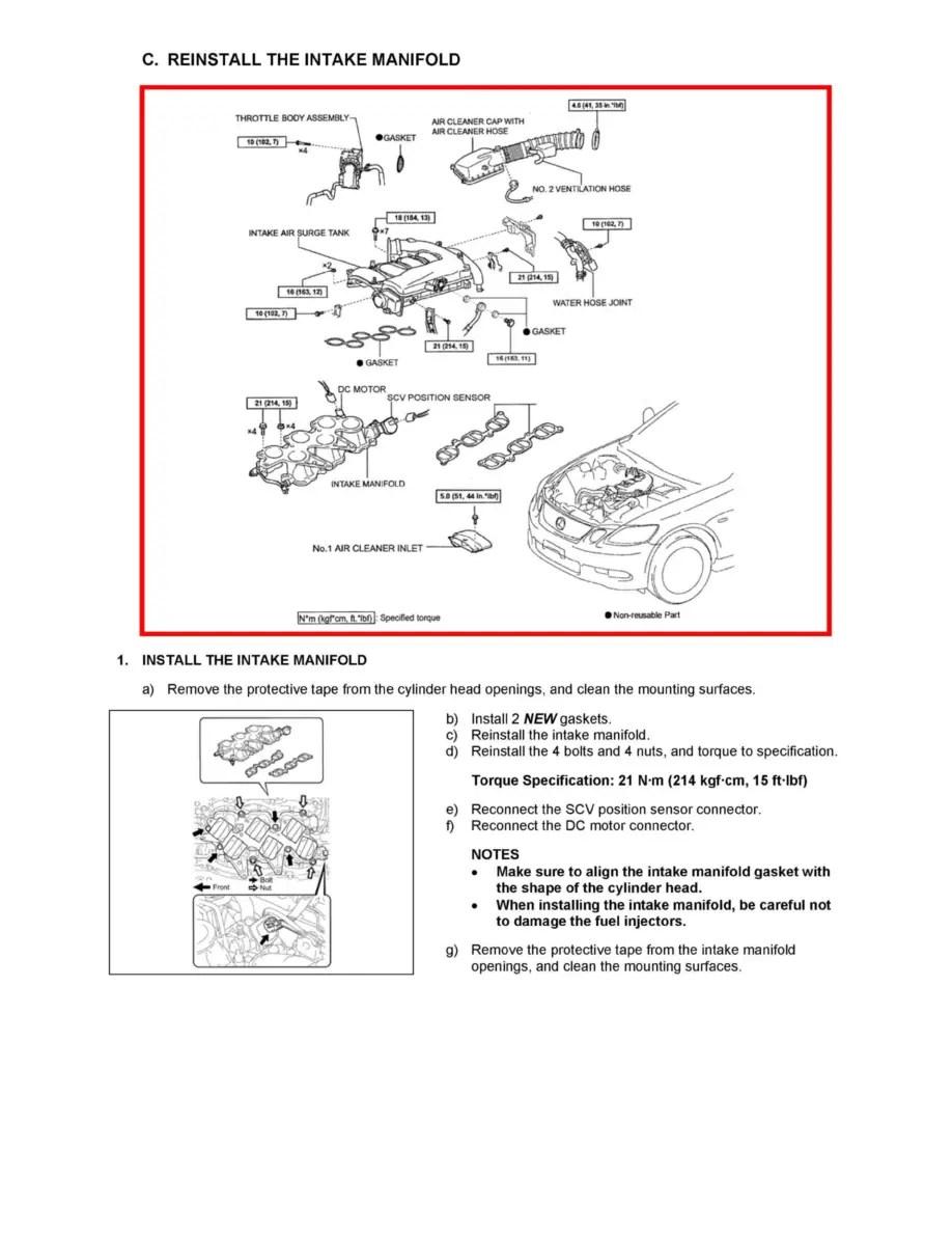 Lexus Workshop Manuals > GS 300 RWD V6-3.0L (3GR-FSE
