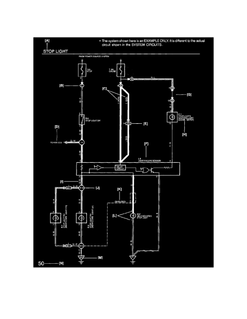 small resolution of  transmission transaxle lamps and indicators a t transmission mode indicator a t component information diagrams diagram information and