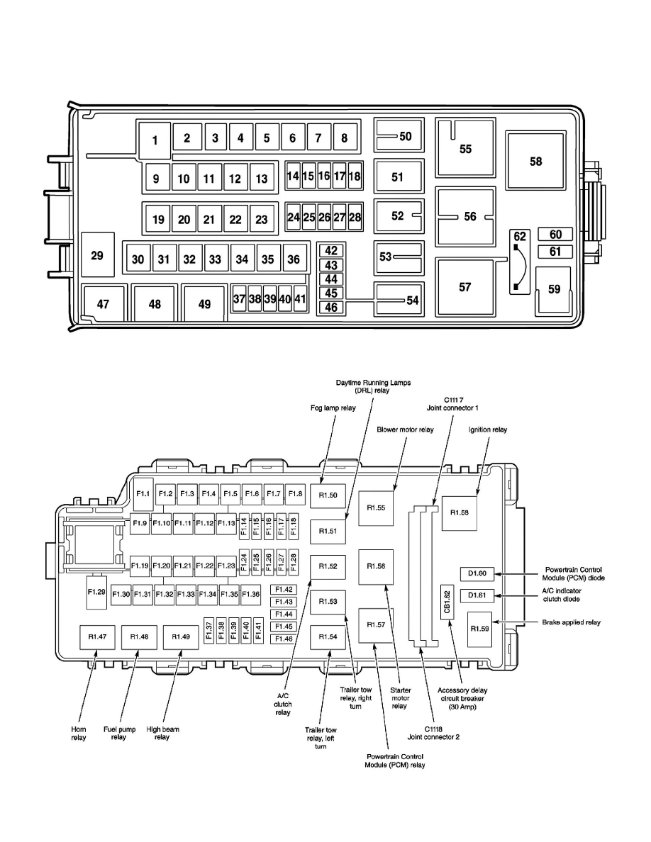 2003 Lincoln Aviator Fuse Box Location : 38 Wiring Diagram