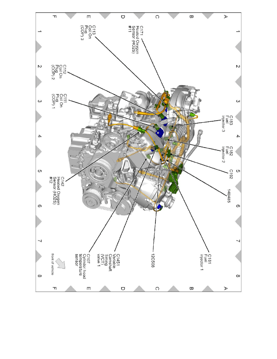 [WRG-8228] Lincoln Engine Cooling Diagram