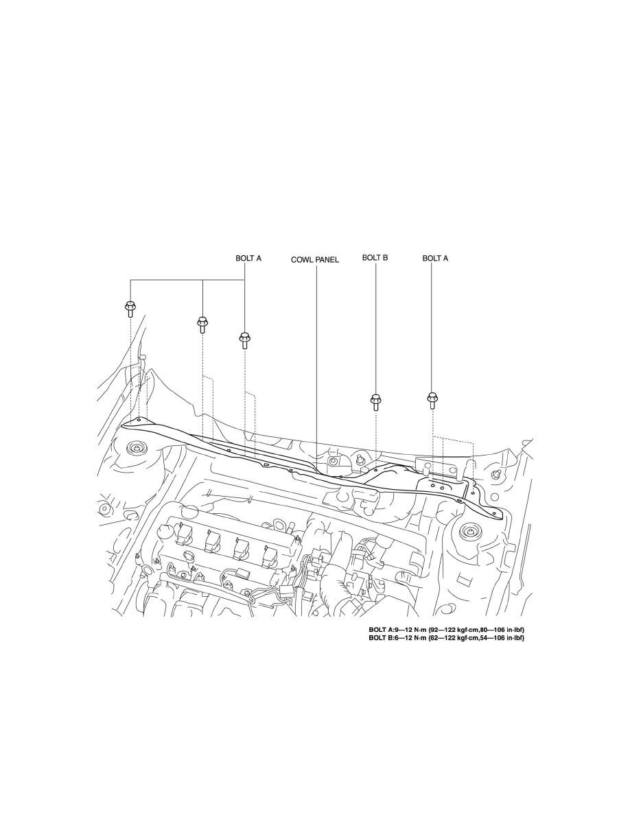 Mazda Workshop Manuals > 3 L4-2.5L (2010) > Body and Frame