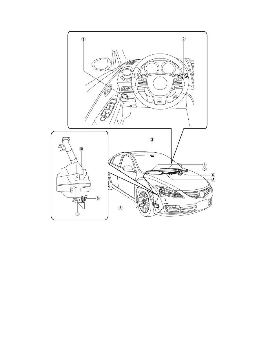 Mazda Workshop Manuals > 6 L4-2.5L (2010) > Relays and