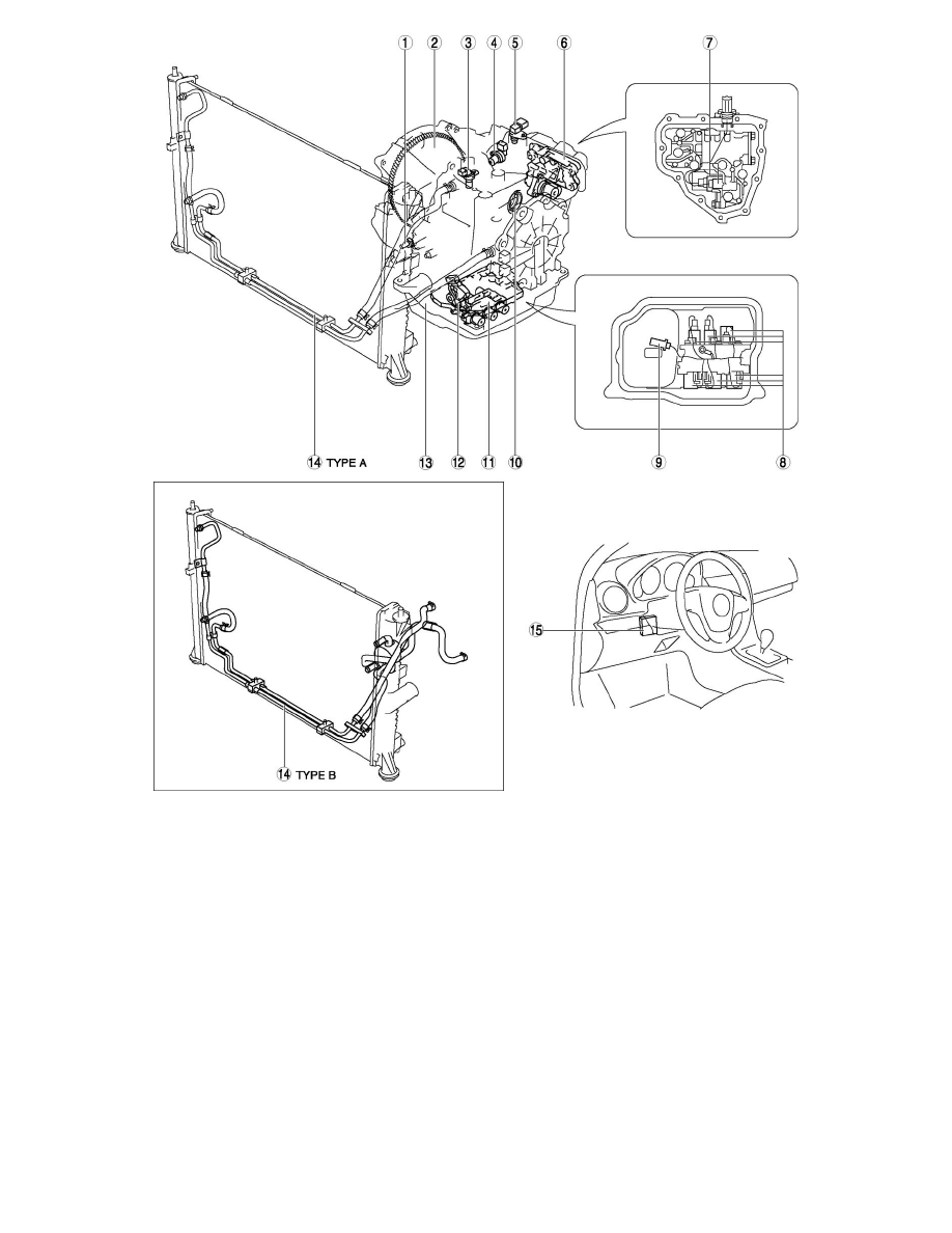 Mazda Workshop Manuals > 6 L4-2.5L (2010) > Transmission