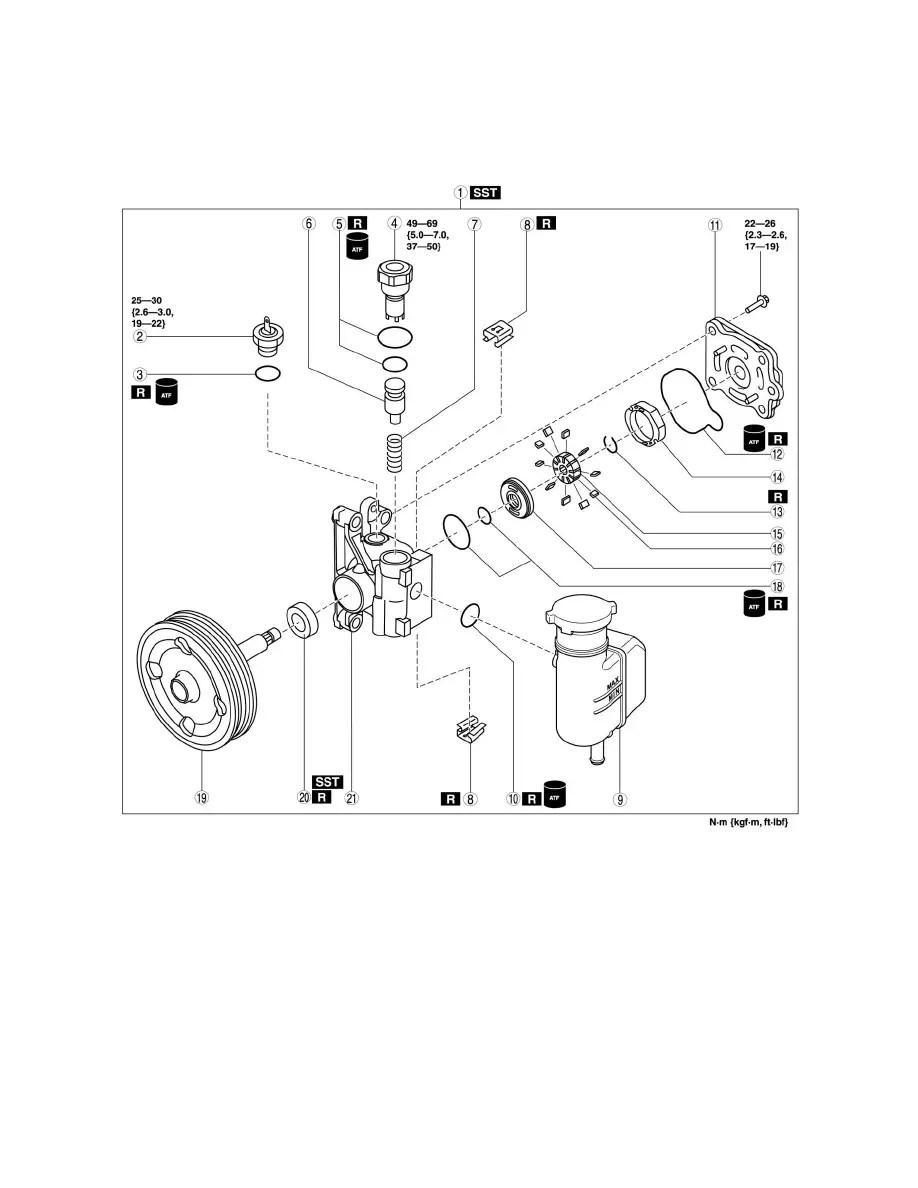 Mazda Workshop Manuals > 6 L4-2.5L (2010) > Steering and