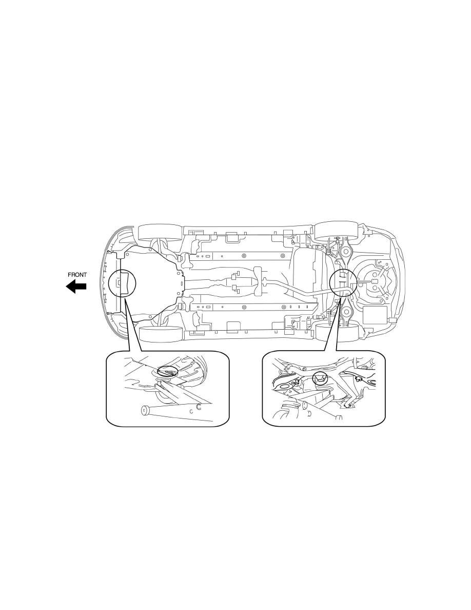 Mazda Workshop Manuals > 6 V6-3.7L (2009) > Maintenance