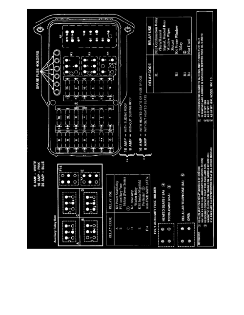 small resolution of 190e fuse box layout