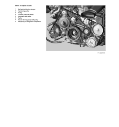 engine cooling and exhaust engine drive belts mounts brackets and accessories drive belt component information service and repair  [ 918 x 1188 Pixel ]
