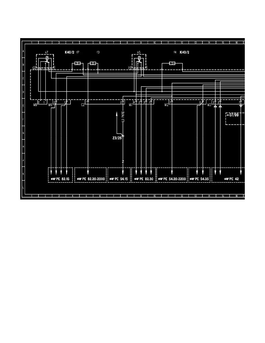 medium resolution of mercedes benz workshop manuals u003e c 230k 202 024 l4 2 3l sc k40 fuse diagram