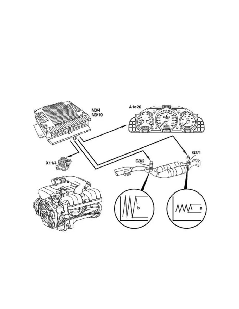 Mercedes Benz Workshop Manuals > C 230K (202.024) L4-2.3L