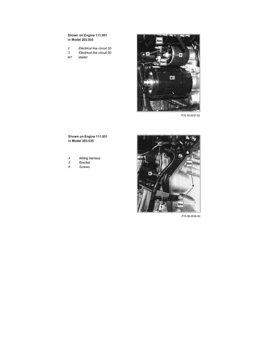 Mercedes Benz Workshop Manuals > C 320 Sedan (203.064) V6