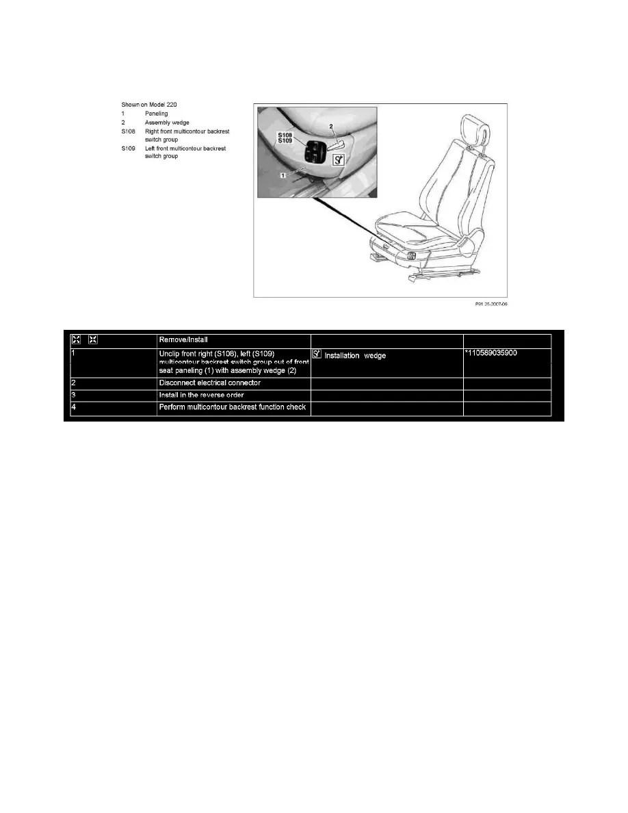 Mercedes Benz Workshop Manuals > CL 500 (215.375) V8-5.0L