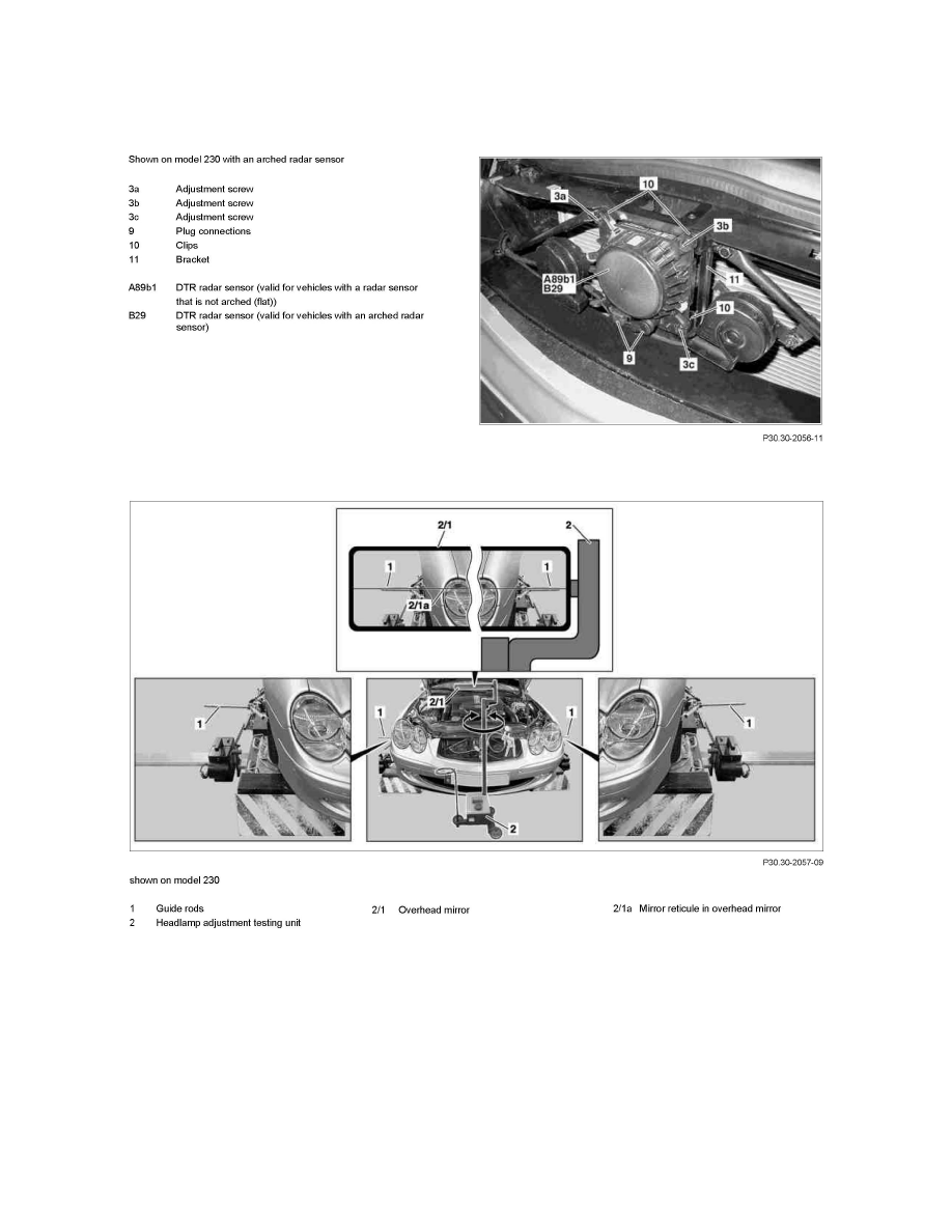 Mercedes Benz Workshop Manuals > CL 550 4MATIC (216.386