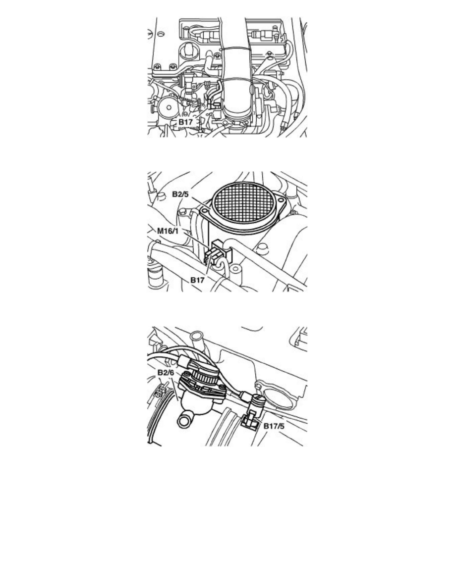 Mercedes Benz Workshop Manuals > CL 600 (140.076) V12-6.0L