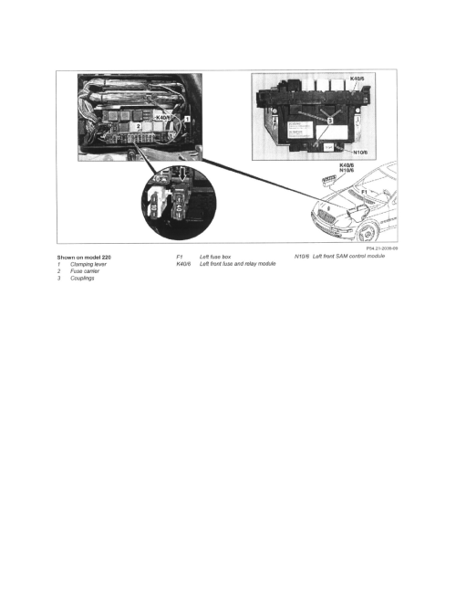 small resolution of  block component information service and repair ar54 15 p 1257i remove install fuse and relay box in engine compartment at left front page 5706
