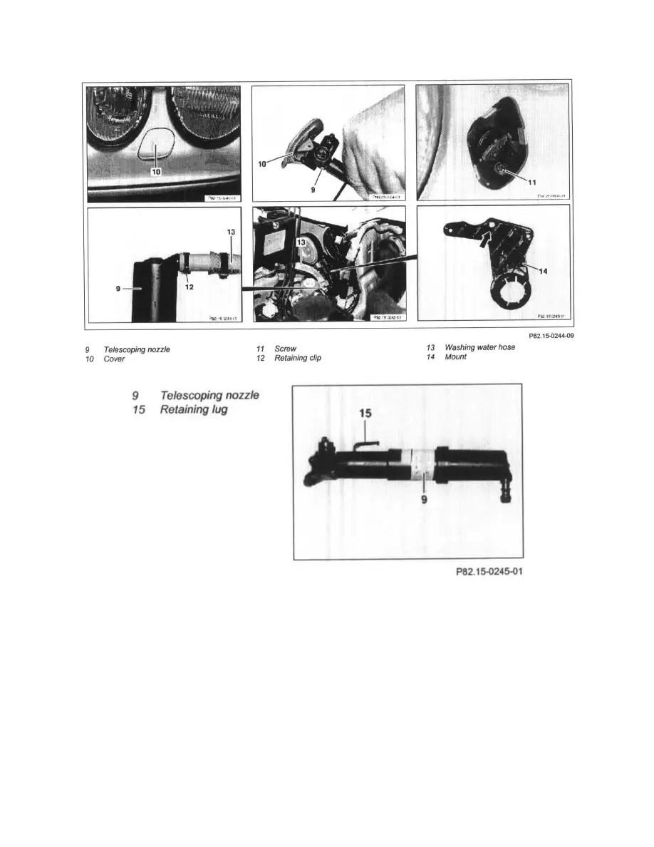 Mercedes Benz Workshop Manuals > CLK 320 Cabriolet (208
