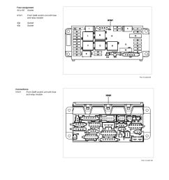 maintenance fuses and circuit breakers fuse block component information description and operation gf54 15 p 1256 01q fuse assignment of rear fuse  [ 918 x 1188 Pixel ]
