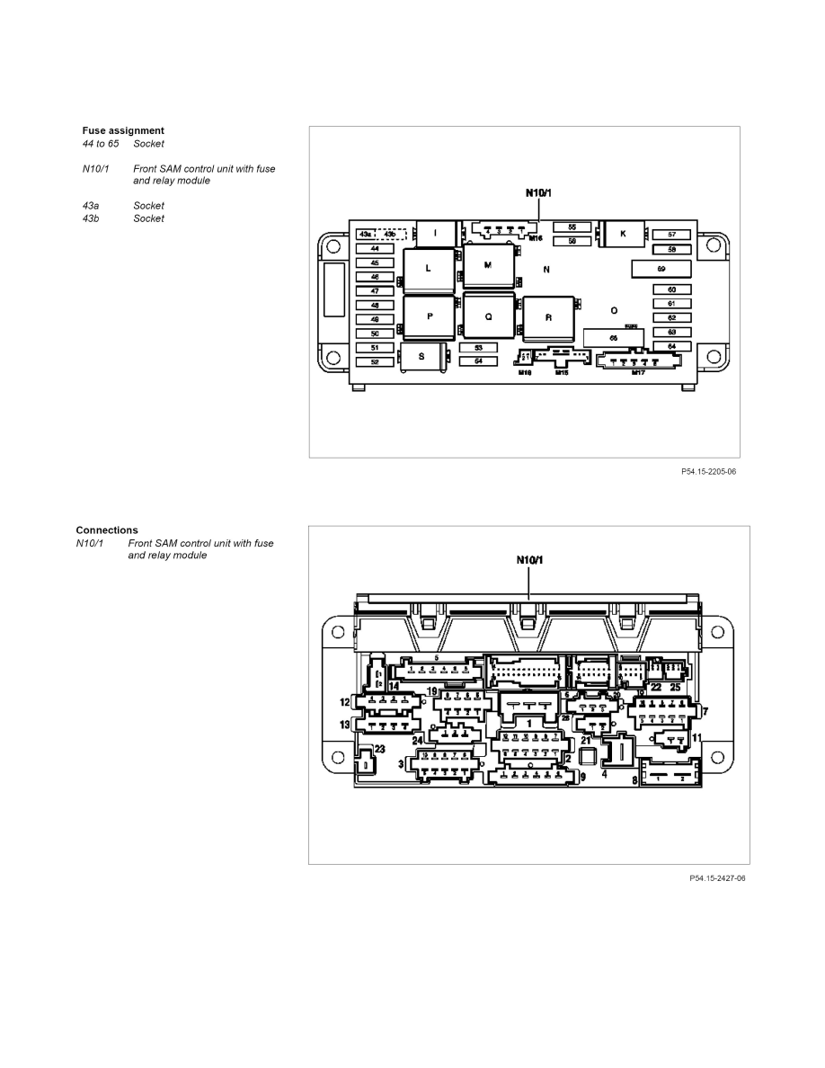 medium resolution of maintenance fuses and circuit breakers fuse block component information description and operation gf54 15 p 1256 01q fuse assignment of rear fuse