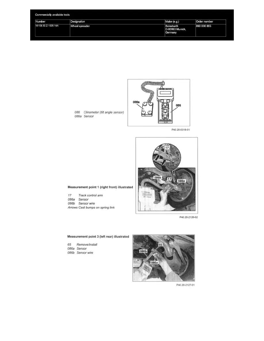 Mercedes Benz Workshop Manuals > E 320 4MATIC Wagon (211