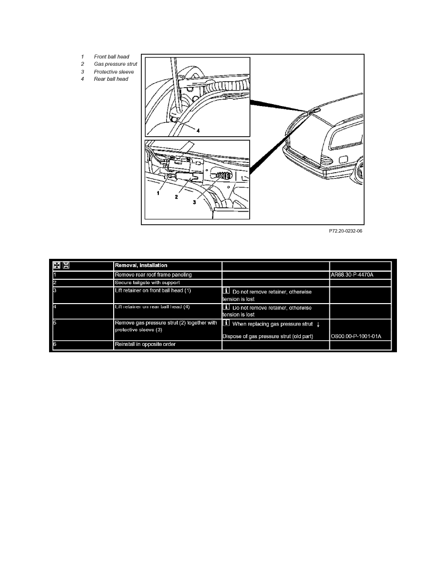 Mercedes Benz Workshop Manuals > E 320 Wagon (210.265) V6