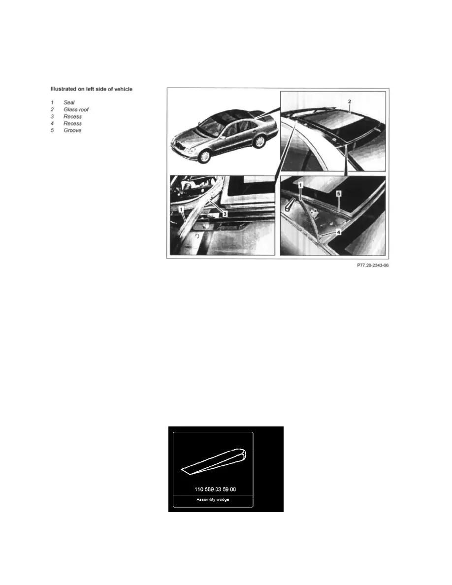 Mercedes Benz Workshop Manuals > E 350 Sedan (211.056) V6
