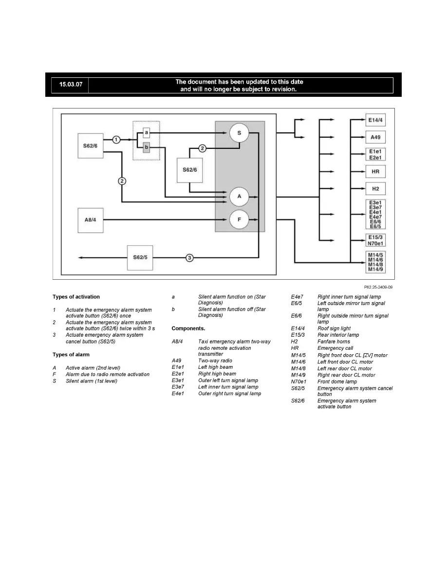 Mercedes Benz Workshop Manuals > E 63 AMG Sedan (211.077