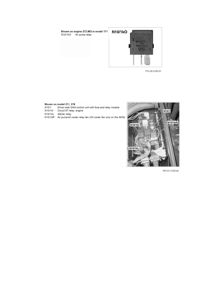 hight resolution of powertrain management emission control systems air injection air injection pump relay component information description and operation