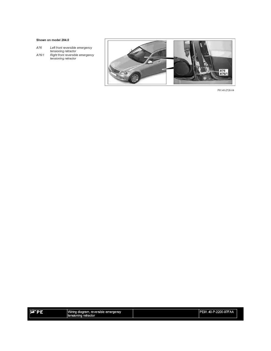 Mercedes Benz Workshop Manuals > GLK 350 4MATIC (204.987