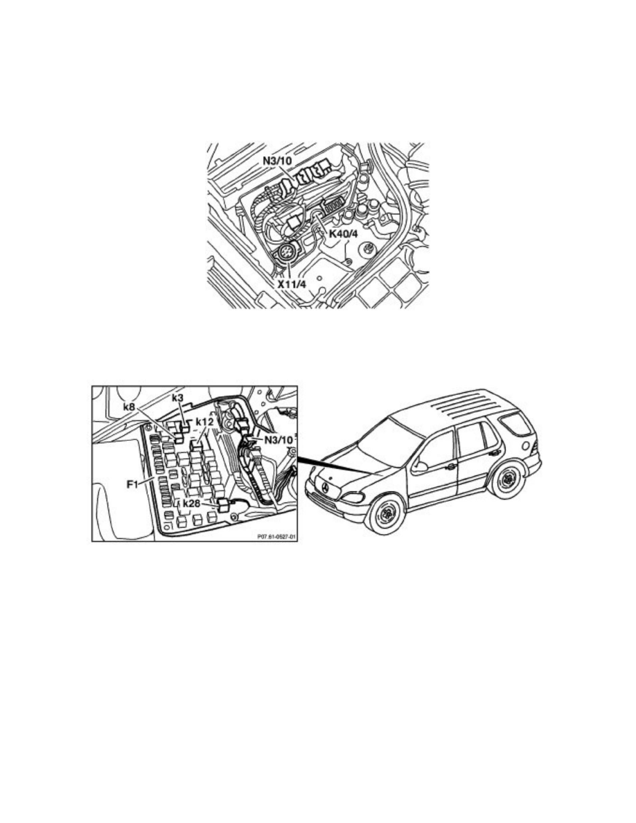 Mercedes Benz Workshop Manuals > ML 430 (163.172) V8-4.3L