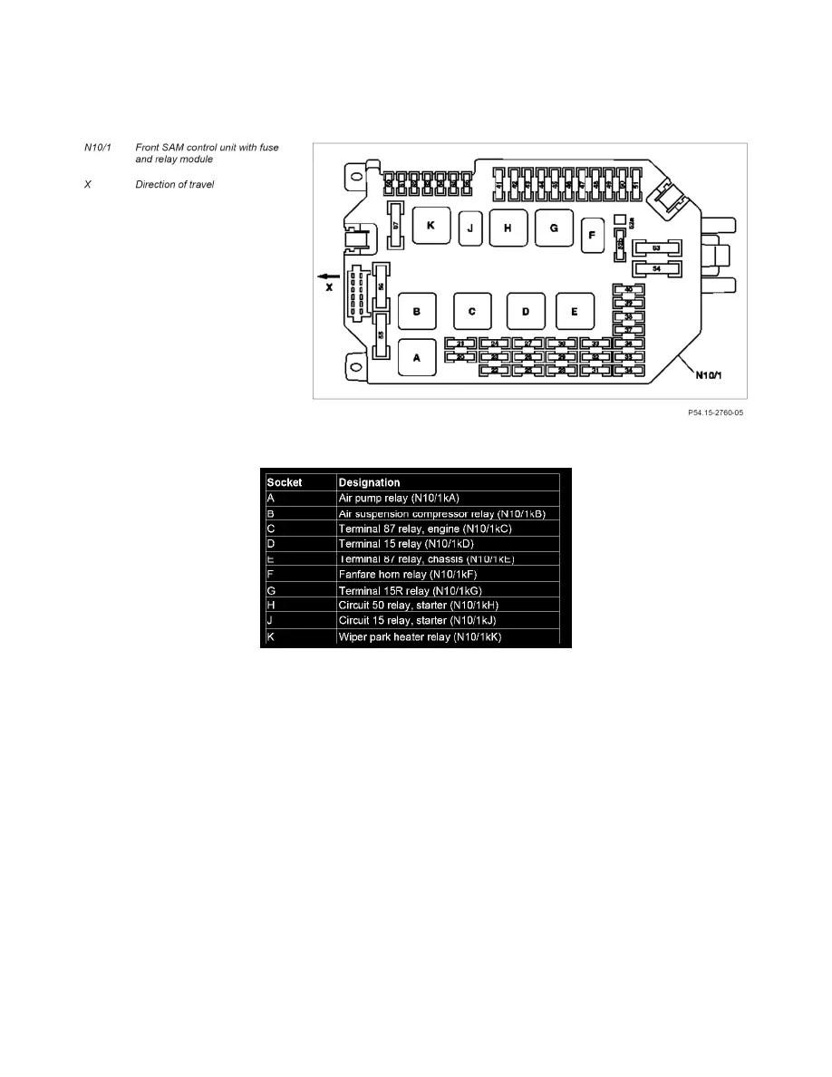 Mercedes Benz Workshop Manuals > S 550 (221.171) V8-5.5L