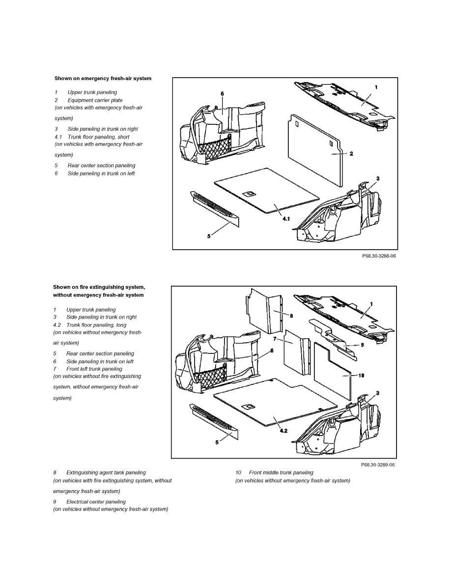 Mercedes Benz Workshop Manuals > S 65 AMG (221.179) V12-6