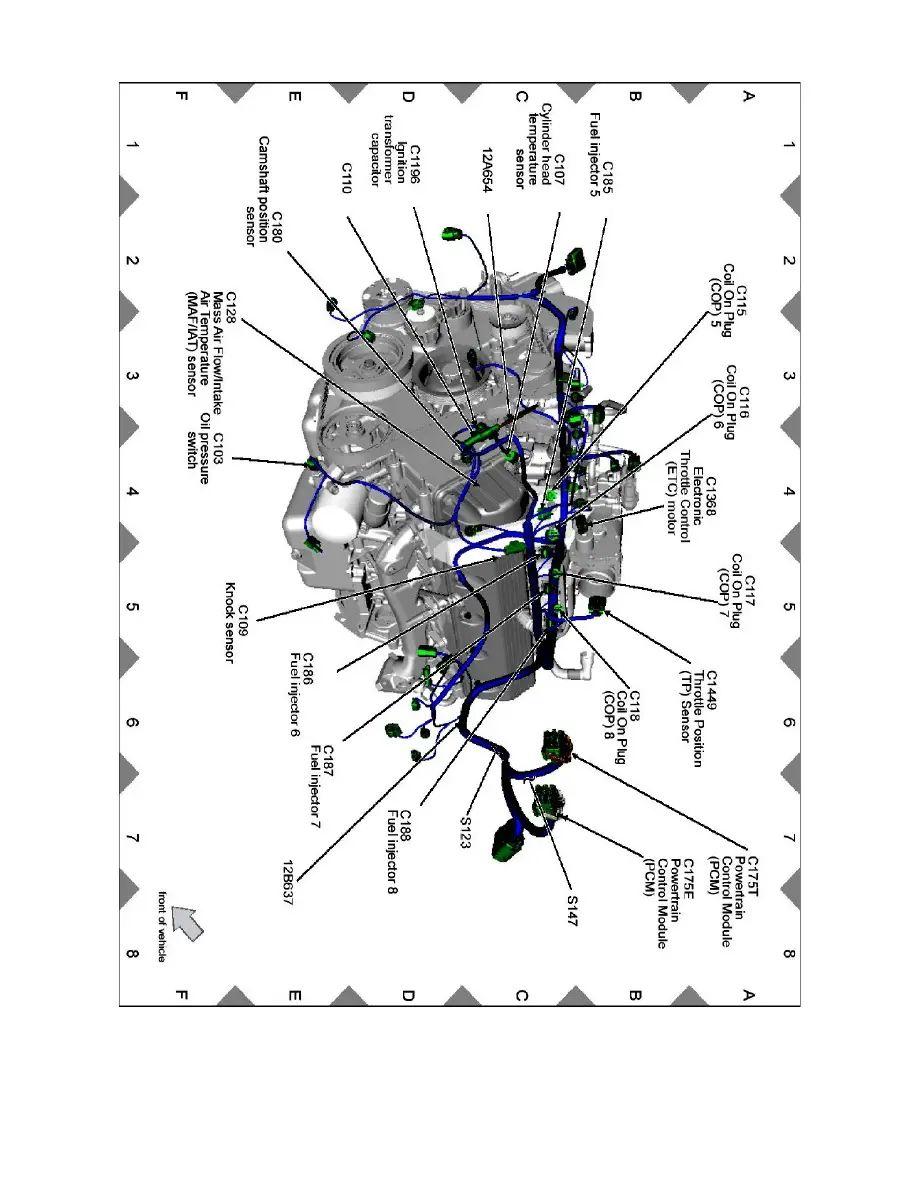 w16 engine diagram