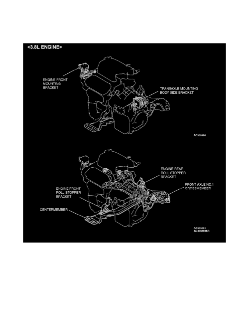 small resolution of engine cooling and exhaust engine drive belts mounts brackets and accessories engine mount component information specifications page 1542